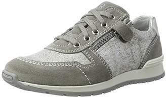 Richter Kinderschuhe Girls' Volley Low-Top Sneakers Grey Size: 5
