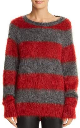 Alexander Wang Striped Textured Sweater