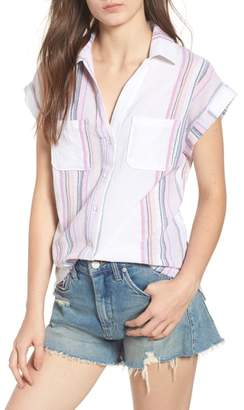Love, Fire Stripe Camp Shirt