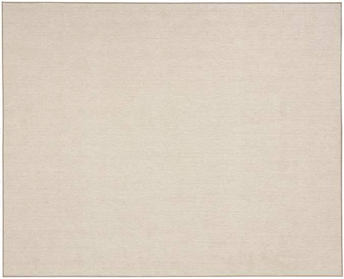 Billiard Custom Mini Stripe Wool Blend Rug - Neutral
