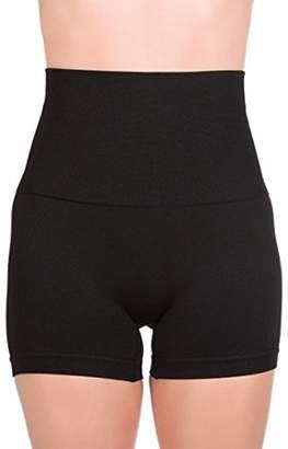 ±0 0 Higi Quality Comfortable Women Fitness Running Yoga Shorts Sports Mini Shorts - LARGE Black