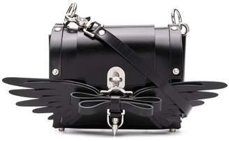 Niels Peeraer winged bow satchel