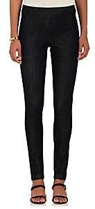 The Row Women's Essentials Stratton Denim Leggings - Dark Blue