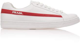 Prada Stripe Logo Sneaker