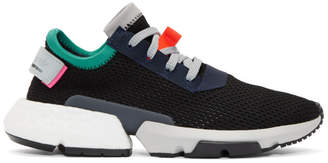 adidas Black and Multicolor Pod-S3.1 Sneakers