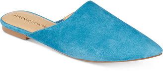 Adrienne Vittadini Flory Slip-On Mules $89 thestylecure.com