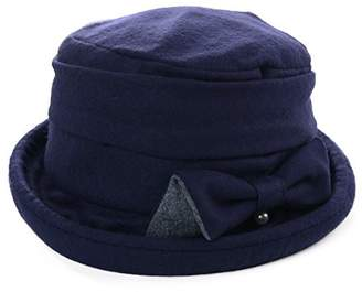 1470b16ba86 Siggi Womens Cloche Hats Ladies Wool Hat Winter 1920s Vintage Derby Church  Bowler Bucket Hat Packable