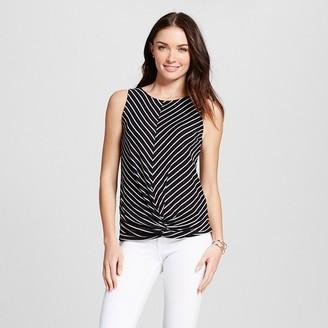Kit + Sky Women's Scoopneck Striped Knit Tank $27.99 thestylecure.com