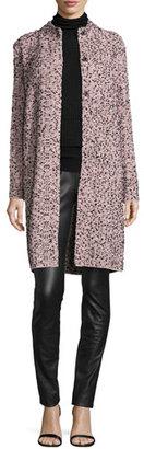 M Missoni Metallic Tweed Topper Jacket, Petal $995 thestylecure.com