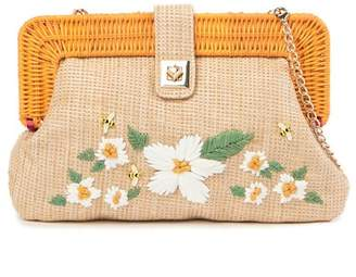 Betsey Johnson Daisy'd and Confused Clutch
