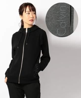 Calvin Klein (カルバン クライン) - Calvin Klein women 【残り僅か】ウォッシャブルウール パーカー(C)FDB