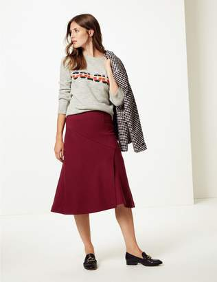 Marks and Spencer Midi Skirt