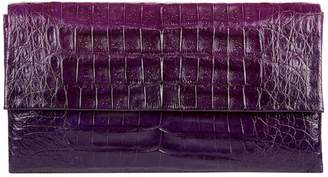 Nancy Gonzalez Small Ombre Crocodile Gotham Clutch