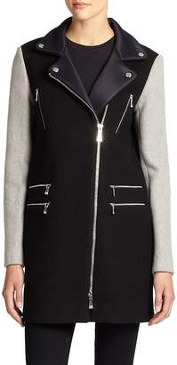 Dawn Levy Women's Alix Wool Scuba Coat