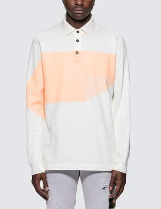 Stone Island L/S Polo Shirt With Logo