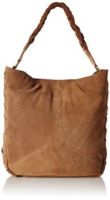 Tresori Women's Real Leather Classic Hobo with Braided Side