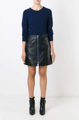 Sonia Rykiel Sonia by Soft Leather Skirt