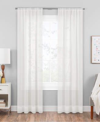 "Hudson Hill Voile 59"" x 63"" Rod Pocket Window Panel"