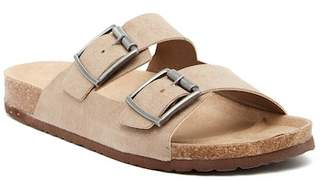 Madden-Girl Pleaase Buckled Slide Sandal