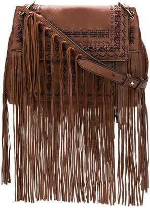 Etro fringed shoulder bag