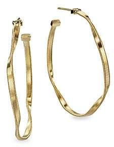 """Marco Bicego Women's Marrakech 18K Yellow Gold Hoop Earrings/2"""""""
