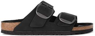Birkenstock Arizona Big Buckle Leather Black Sandal - Premium