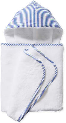 Serena & Lily Oxford Banded Hooded Towel