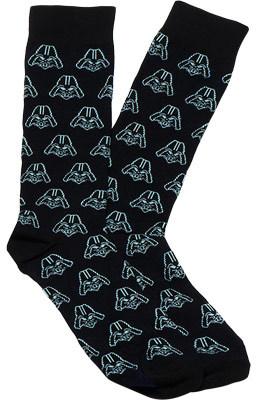 Cufflinks Inc Darth Vader Socks