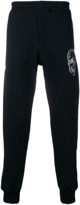 Alexander McQueen logo track trousers