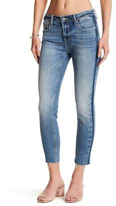 Vigoss Raw Hem Skinny Crop Jeans