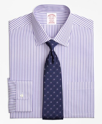 Brooks Brothers Madison Classic-Fit Dress Shirt, Non-Iron Tonal Bengal Stripe