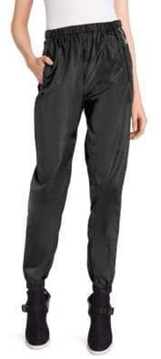 Prada Nylon Logo Track Pants