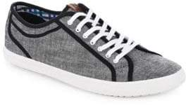 Ben Sherman Contrast Lace-Up Sneakers