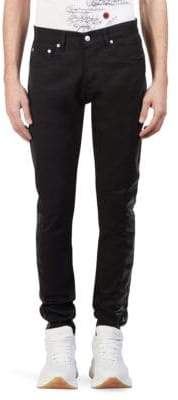 Alexander McQueen Clean Fitted Side Stripe Jeans