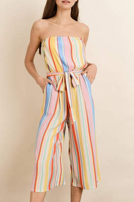 Dress Forum Rainbow Stripe Jumpsuit