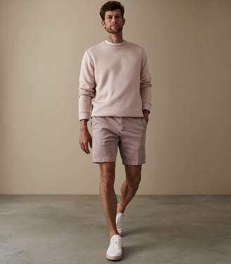 Reiss WICK CHINO SHORTS Pink