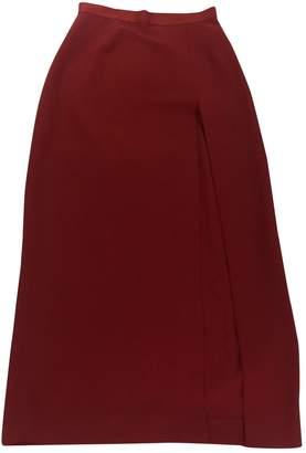 Aq/Aq Aqaq Red Skirt for Women