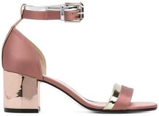 Pollini slingback buckle sandals