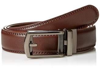 As Seen On Tv Comfort Click Men's Adjustable Belt, Brown