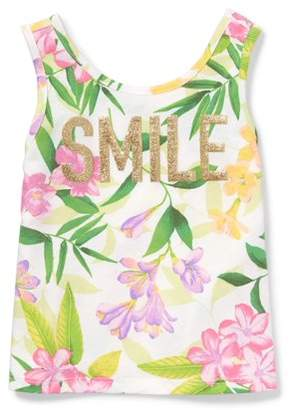 Children's Place The  Toddler Girls' Floral Tank Top