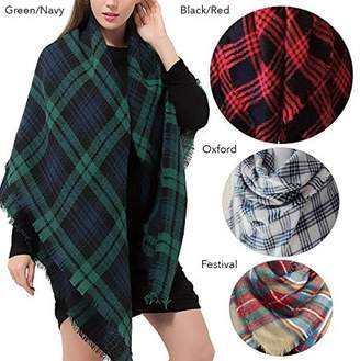 Fashionable ONLINE Women's Oversized Comfy Pull Over Scarf Sunday Shawl