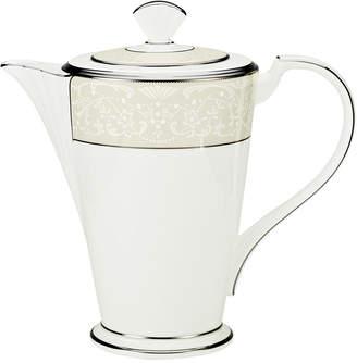 """Noritake Silver Palace"""" Coffeepot"""