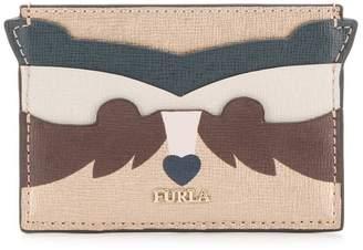 Furla Allegra fox-shaped cardholder