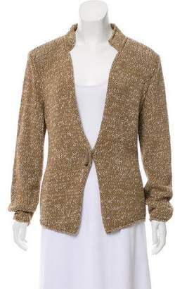 Fabiana Filippi Long Sleeve Knit Cardigan