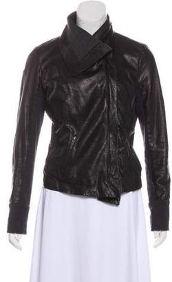 A.L.C. Leather Perforated Jacket