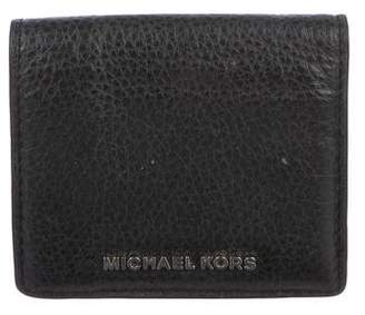 Michael Kors Leather Compact Wallet
