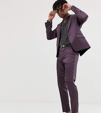 Heart N Dagger skinny suit pants in shimmer