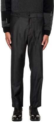 Mauro Grifoni Dark Gray Wool Trousers