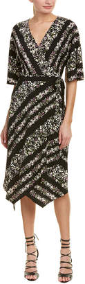 BCBGMAXAZRIA Madalyn Wrap Dress