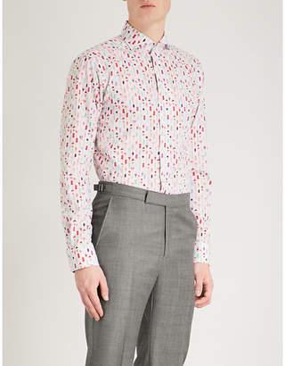 Eton Ice Cream-print cotton shirt